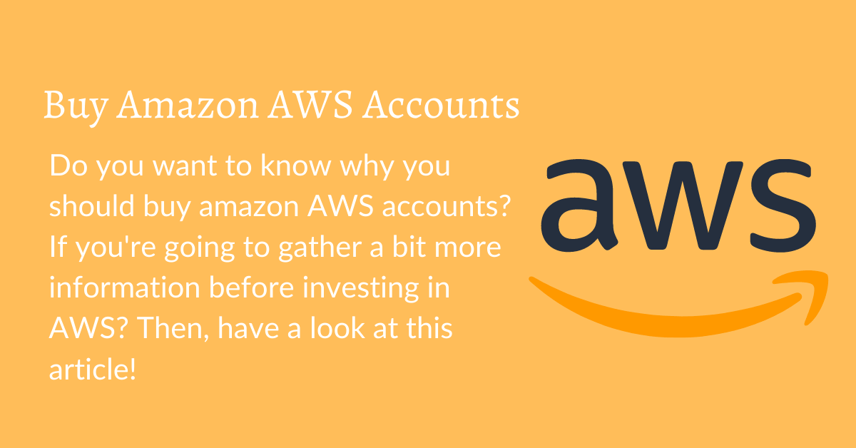 aws accounts for sale