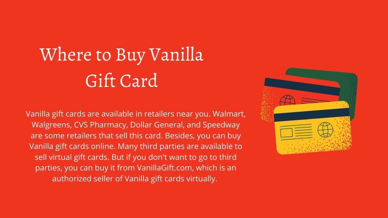 buy vanilla reload with gift card