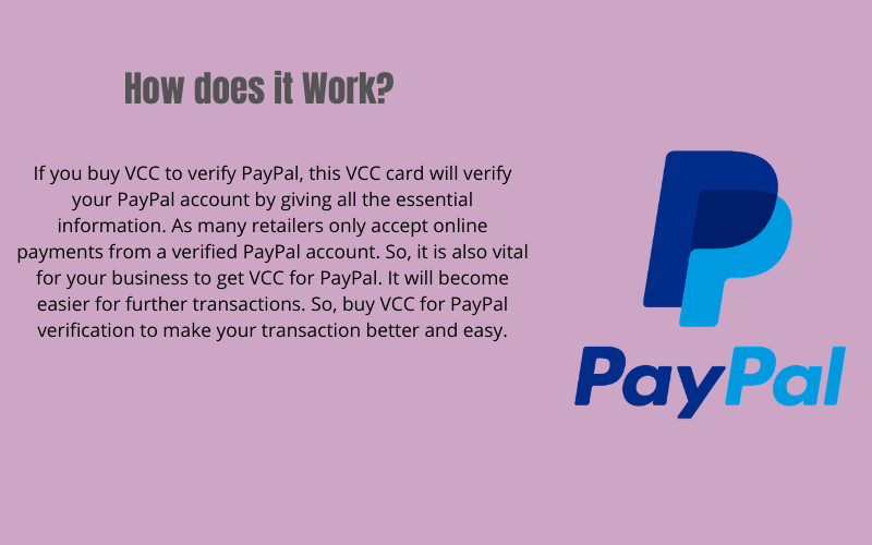 buy vcc with paypal ,free vcc for paypal